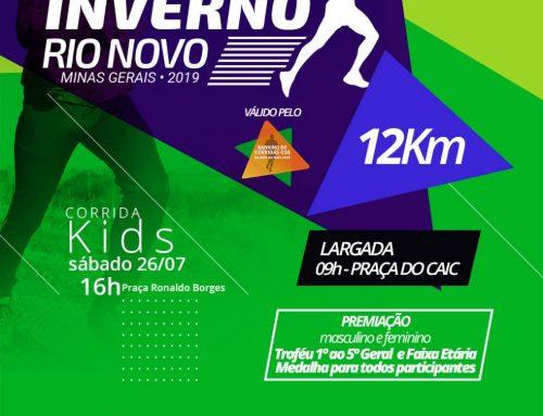 Corrida de Inverno 2019 – Rio Novo – MG