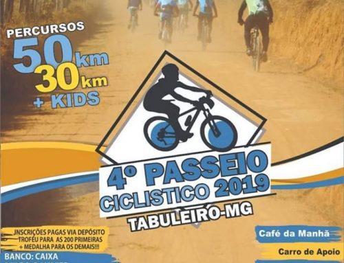4º Passeio Ciclistico 2019 – Tabuleiro-MG