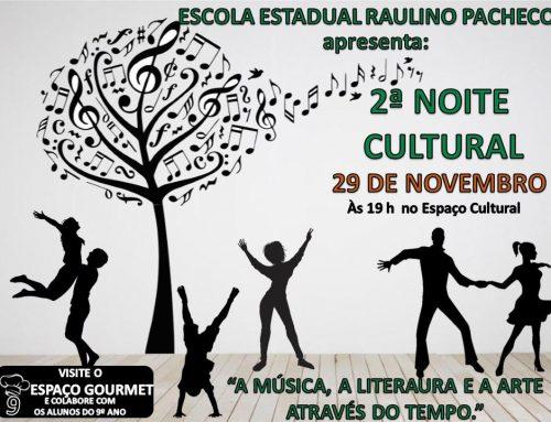 2ª Noite Cultural – Rio Novo – MG