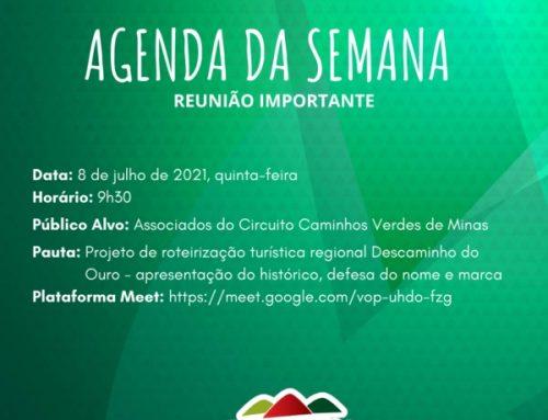 Circuito promove reunião para discutir projeto de roteirização Descaminho do Ouro